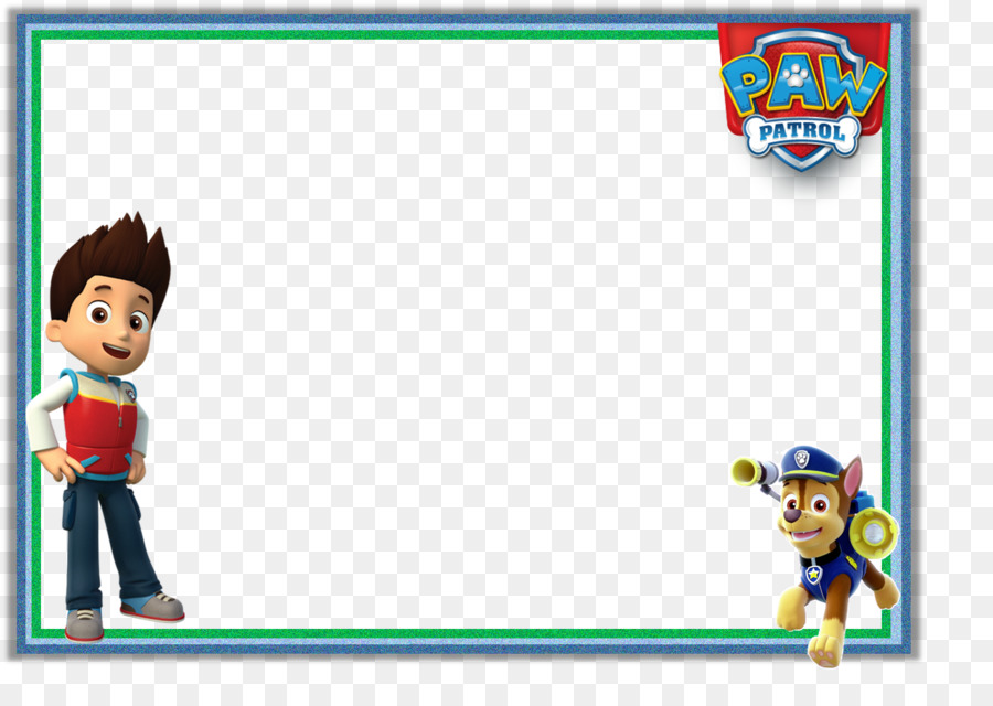 This is an image of Exceptional Paw Patrol Borders