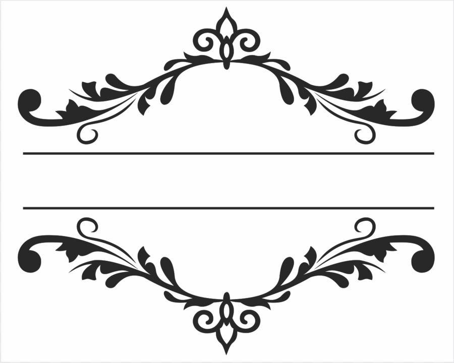 Picture Frames Ornament Arabesque - burning letter a png png ...