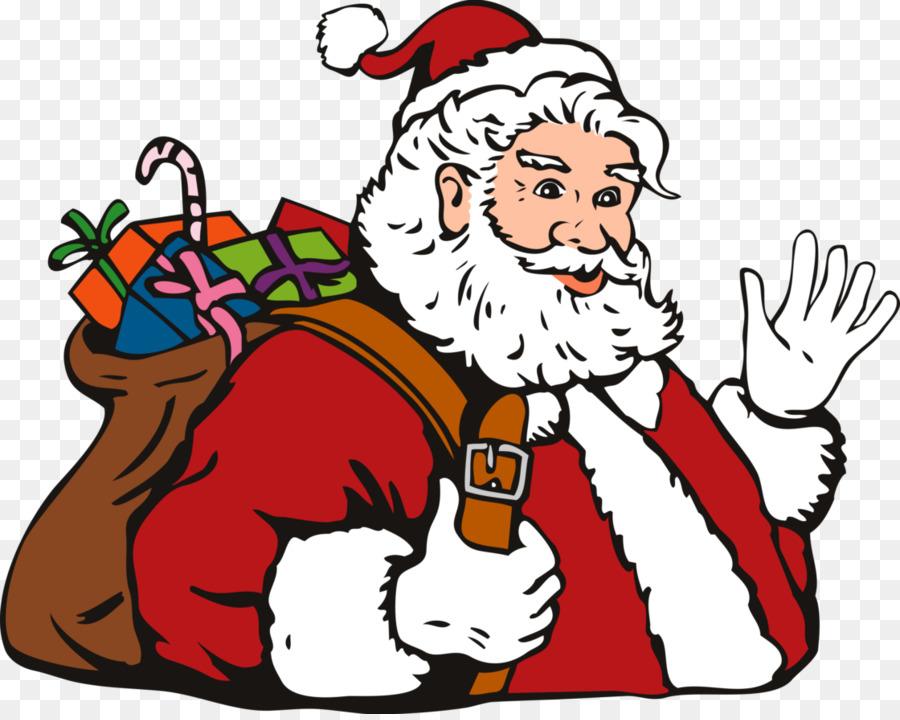 Santa Claus Mrs Claus Christmas Clip Art Santa