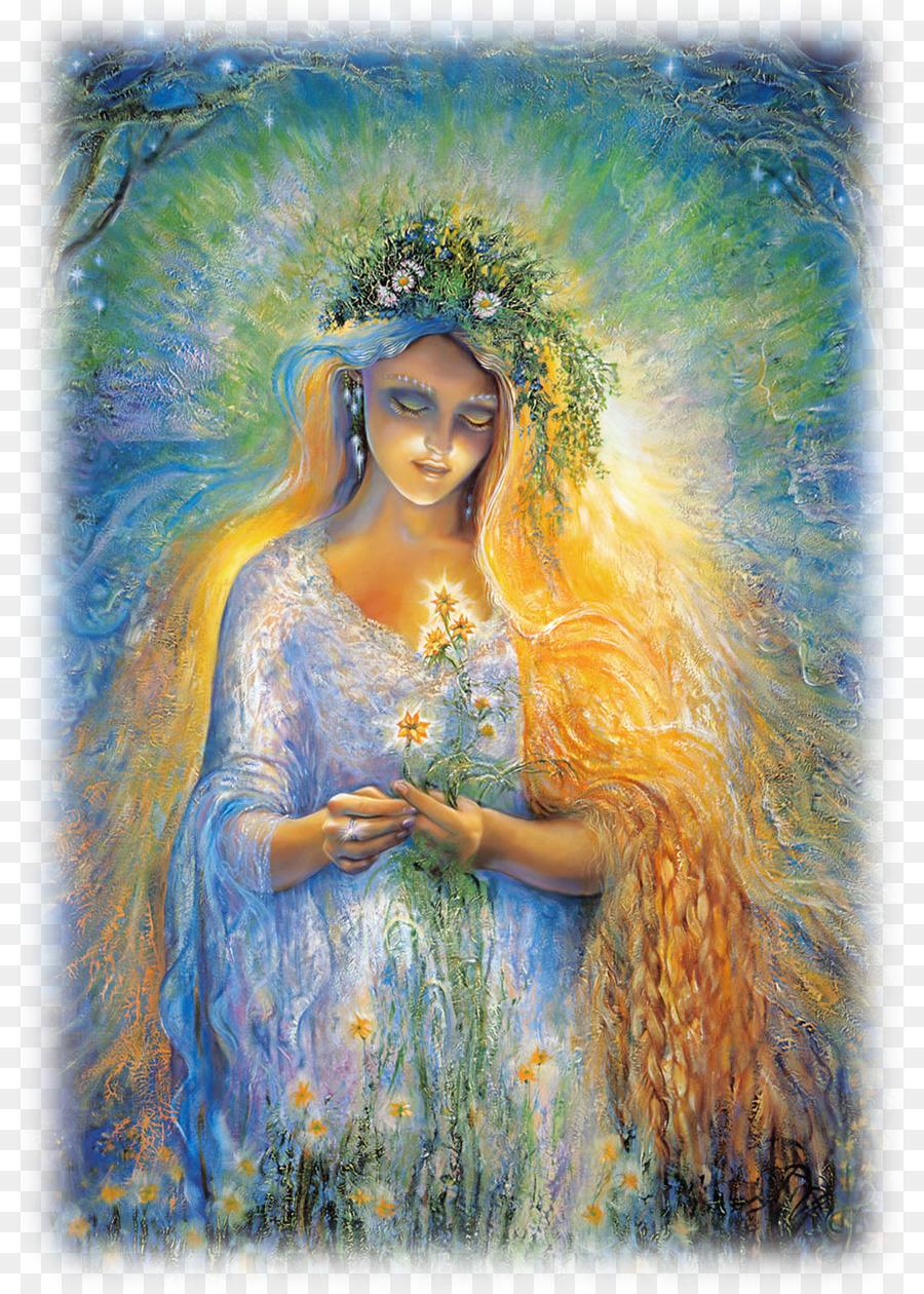 Mother Nature Josephine Wall Earth Goddess Gaia