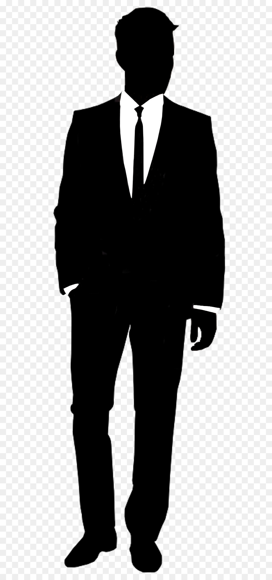 Suit Silhouette Shirt Informal attire - gentleman png ...
