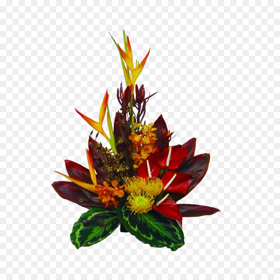 Hawaii Flower bouquet Floristry Wedding - tropical png download ...