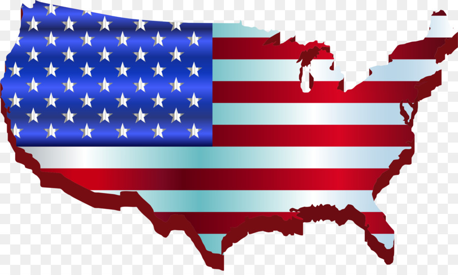 Flag Of The United States Map Clip Art Usa Png Download 2290