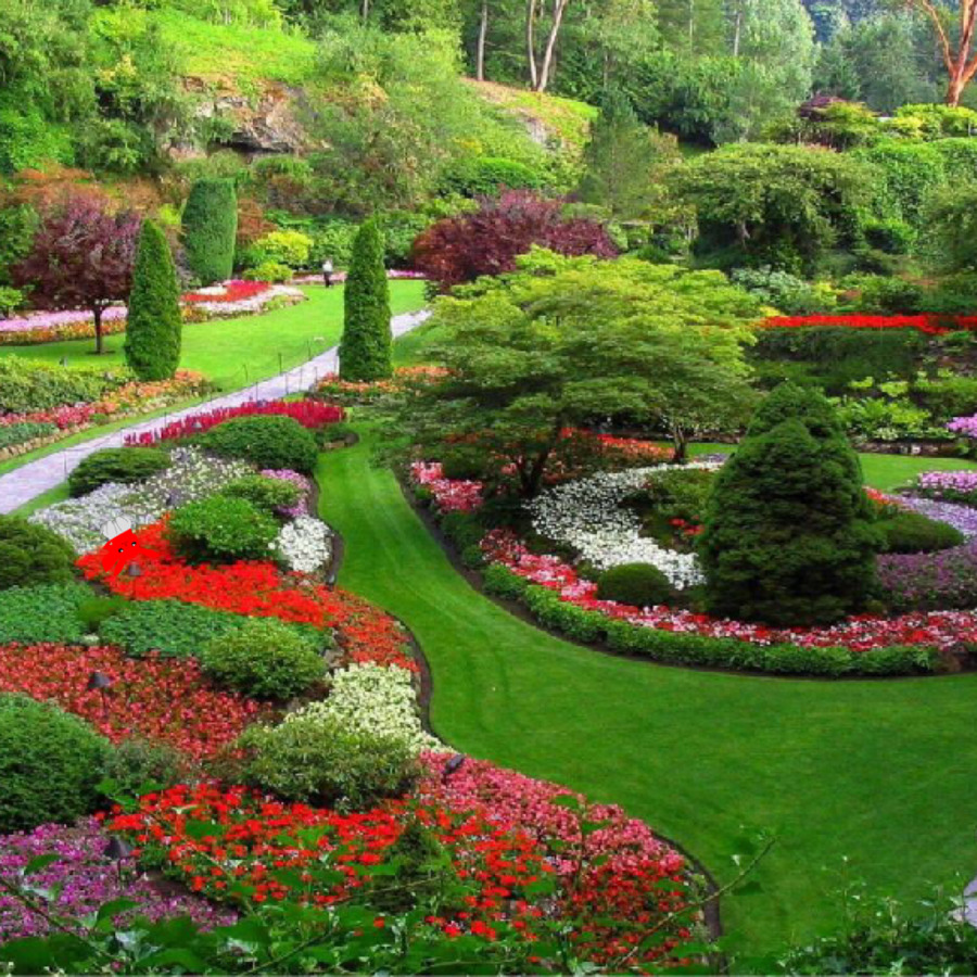 Garden Landscapes Small Family Gardens Garden Ideas Landscape design ...