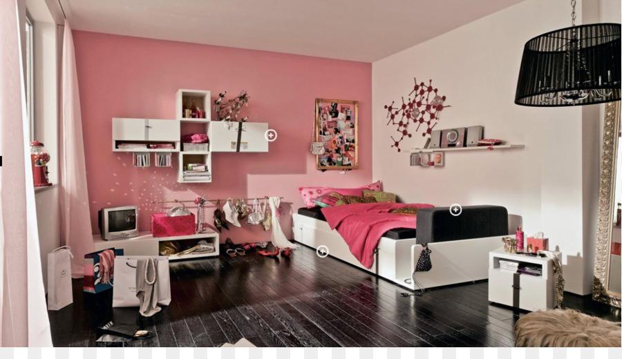 Bedroom Interior Design Services Adolescence - room png download ...