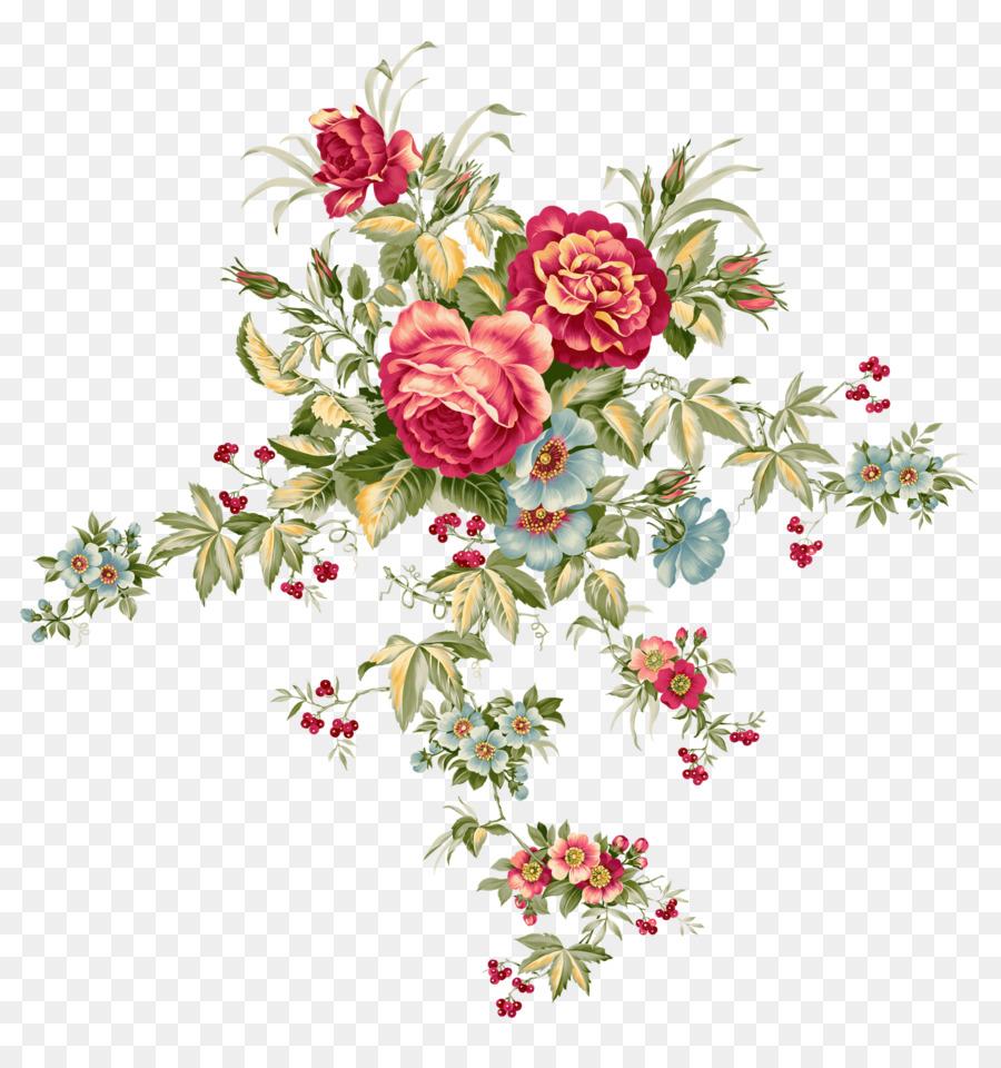 Flower bouquet Floral design Clip art - Flowers png download - 1519 ...