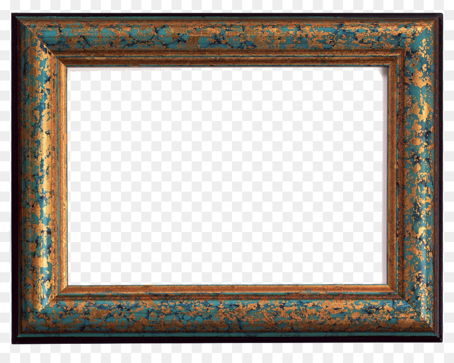 Picture Frames Drawing painting Photography - aqua frame png ...