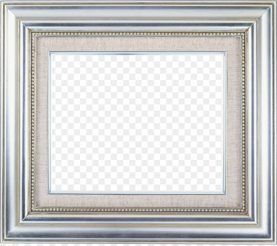 Picture Frames Oil painting Silver Photography - silver frame png ...