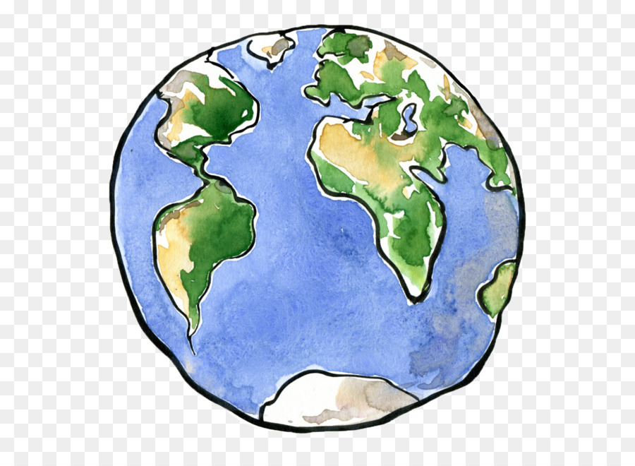 Wonderful Earth Drawing Planet Clip Art   Earth Cartoon