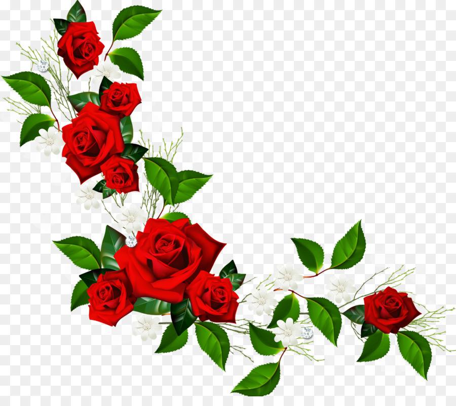 flower rose red clip art rose border png download 1137 987 rh kisspng com yellow rose border clip art white rose border clip art