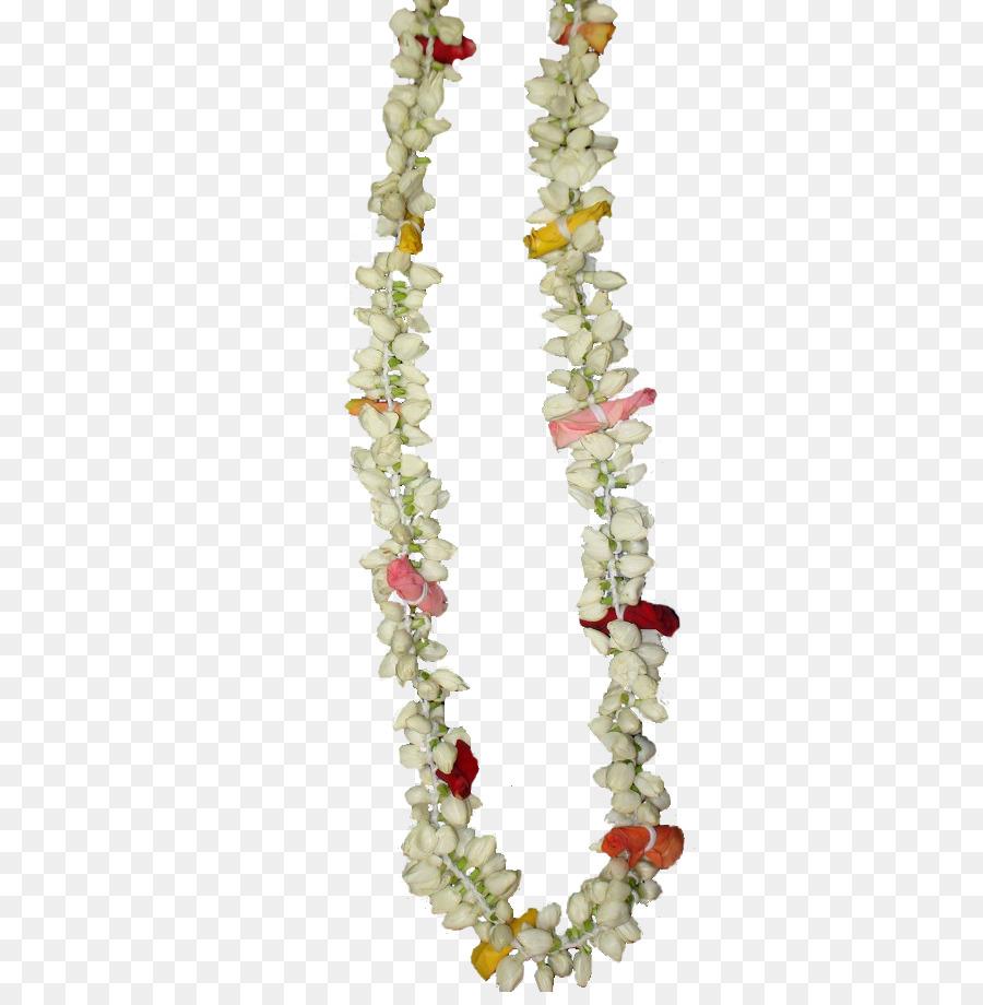 Garland Flower Hindu Wedding Jasmine Garland Png Download 681