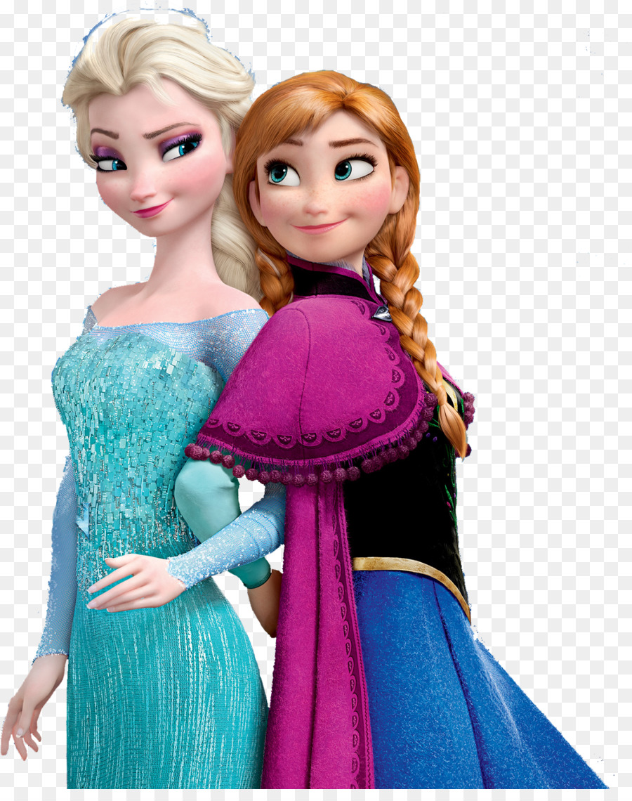 Anna And Elsa Kissing On The Lips