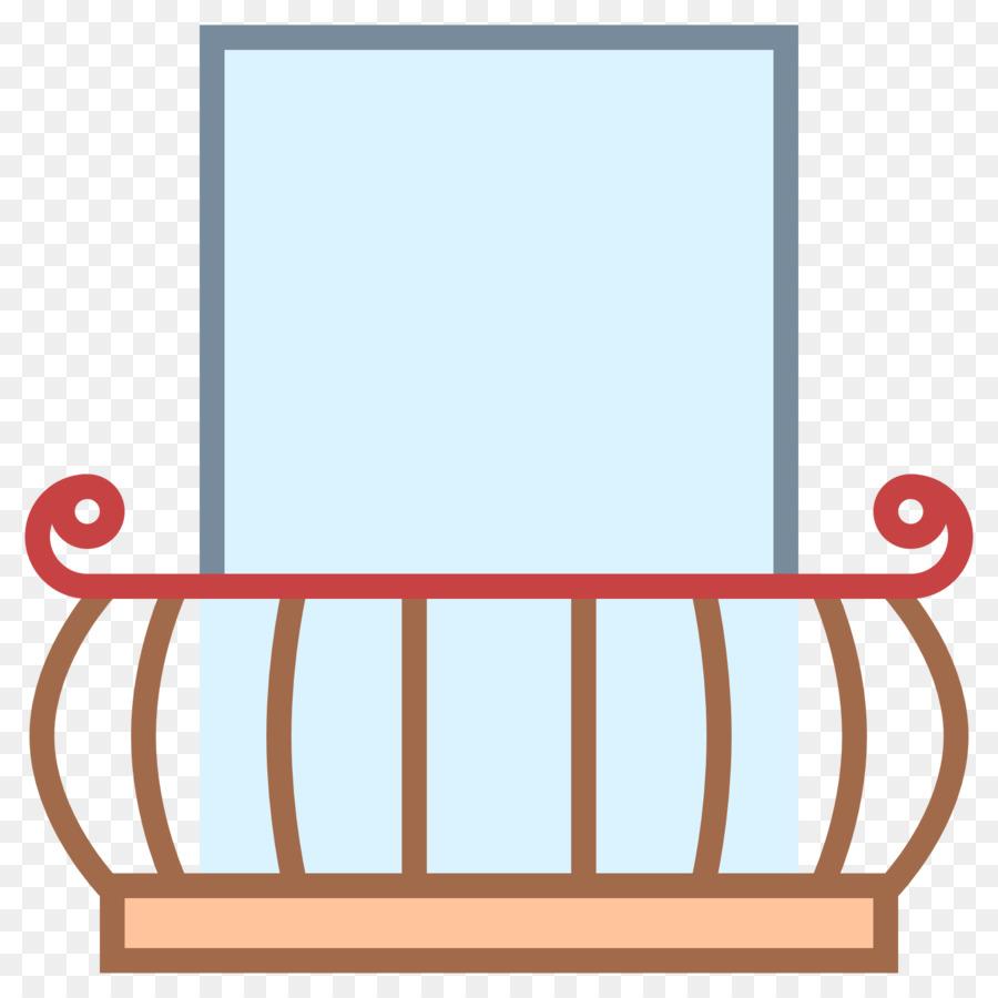 Fenster Balkon Computer Icons Clip Art Balkon Png Herunterladen