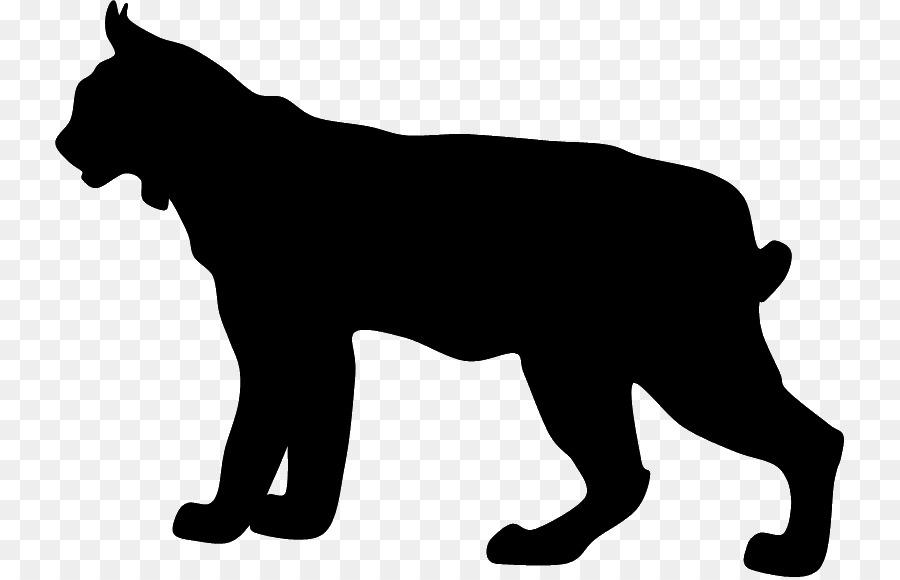 boxer bobcat silhouette clip art lynx png download 789 577