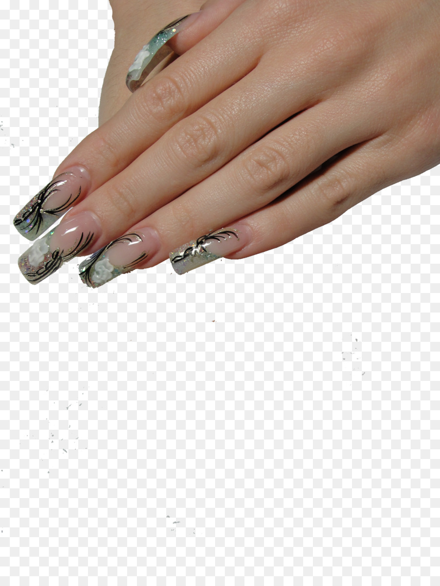 Artificial Nails Manicure Acrylic Paint Nail Art Nails Png