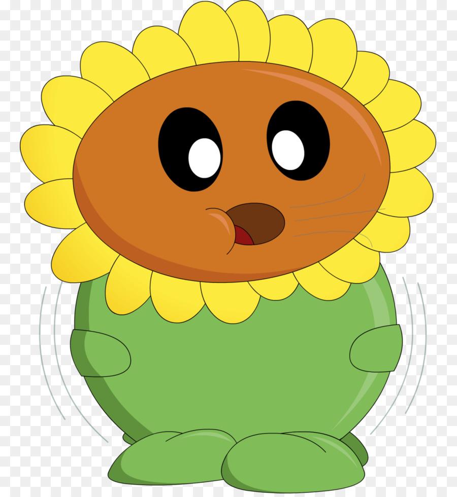 plants vs zombies common sunflower fat plants vs zombies png