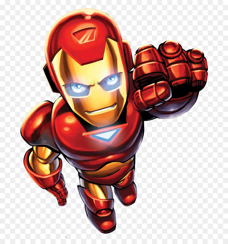 Marvel Super Hero Squad Iron Man Spider Man Captain