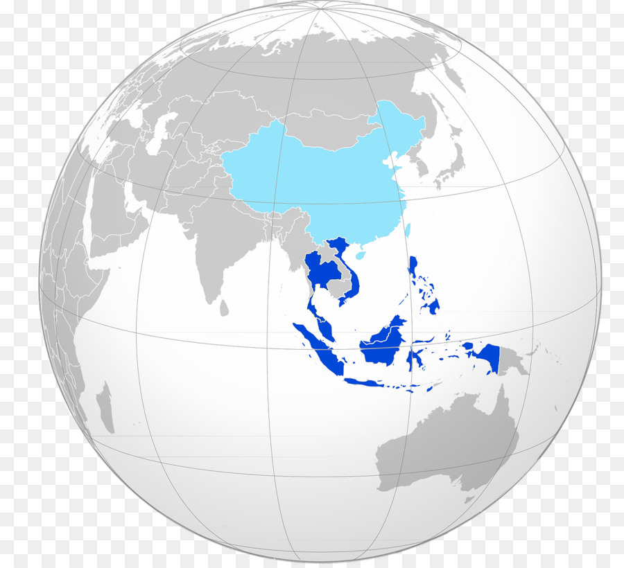 thailand world map globe asia
