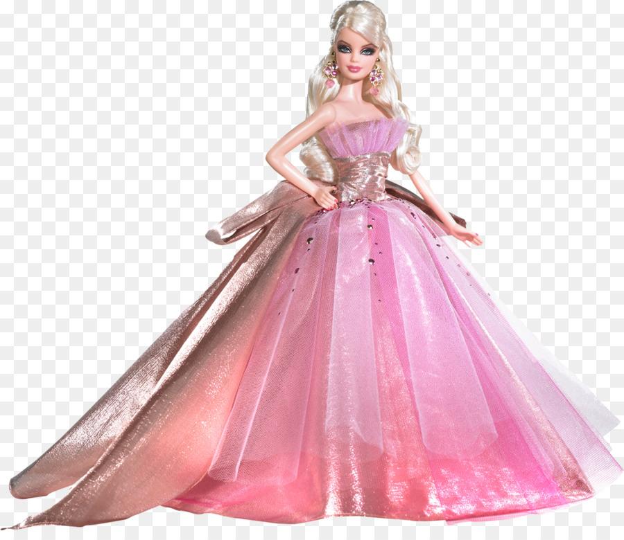 Amazon.com Muñeca Barbie De Vestido De Fiesta - barbie Formatos De ...