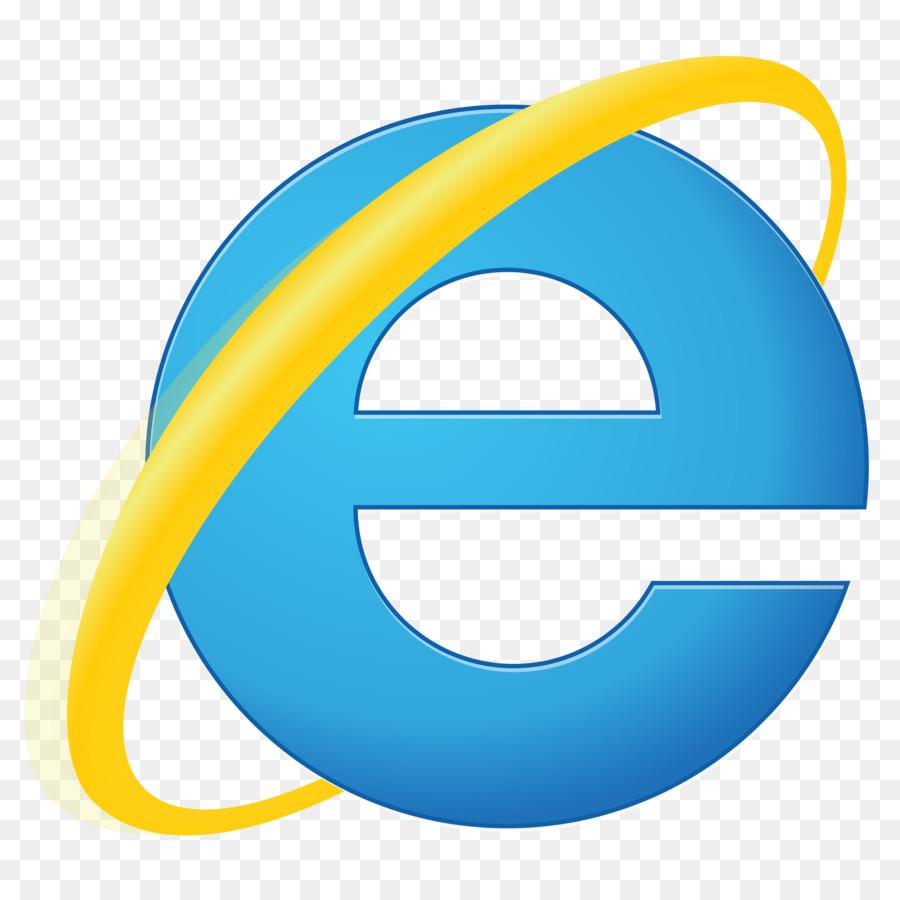 Internet explorer web browser hyperlink internet explorer logo.