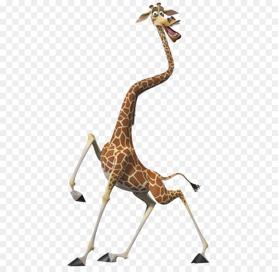 Melman gloria alex madagascar character giraffe png - Girafe madagascar ...
