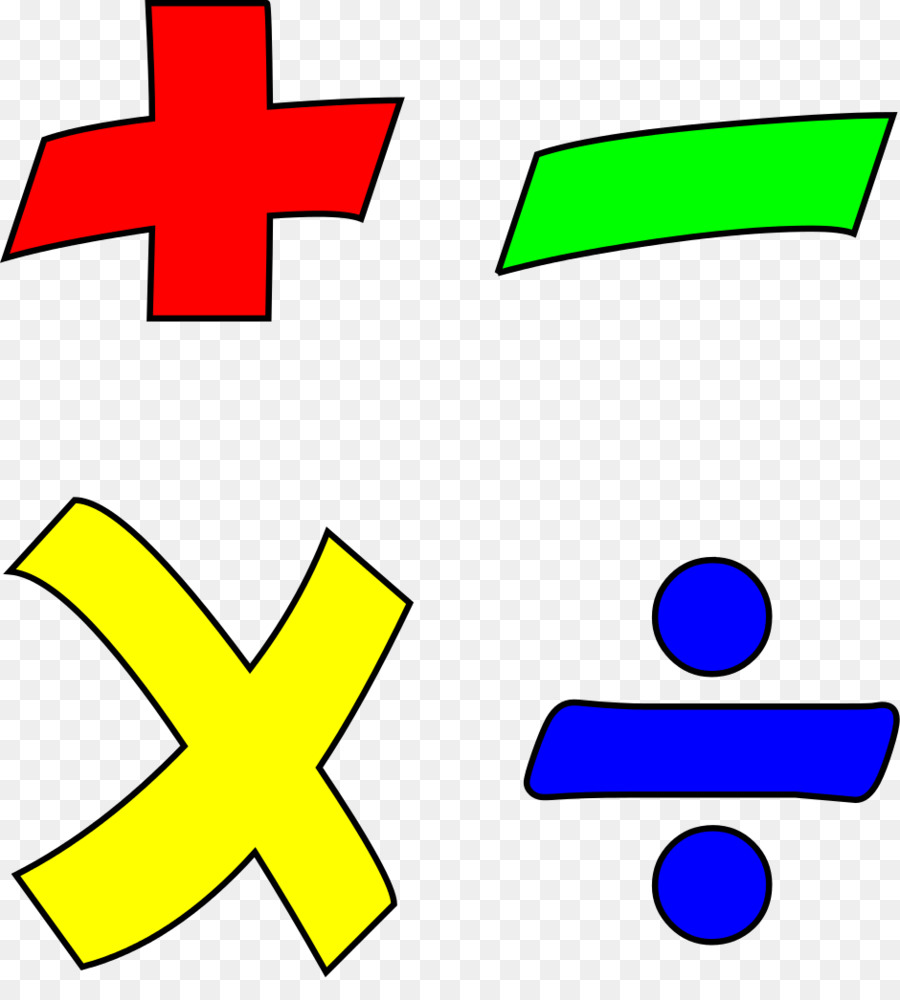 Operation Mathematics Operator Multiplication Division Math Png