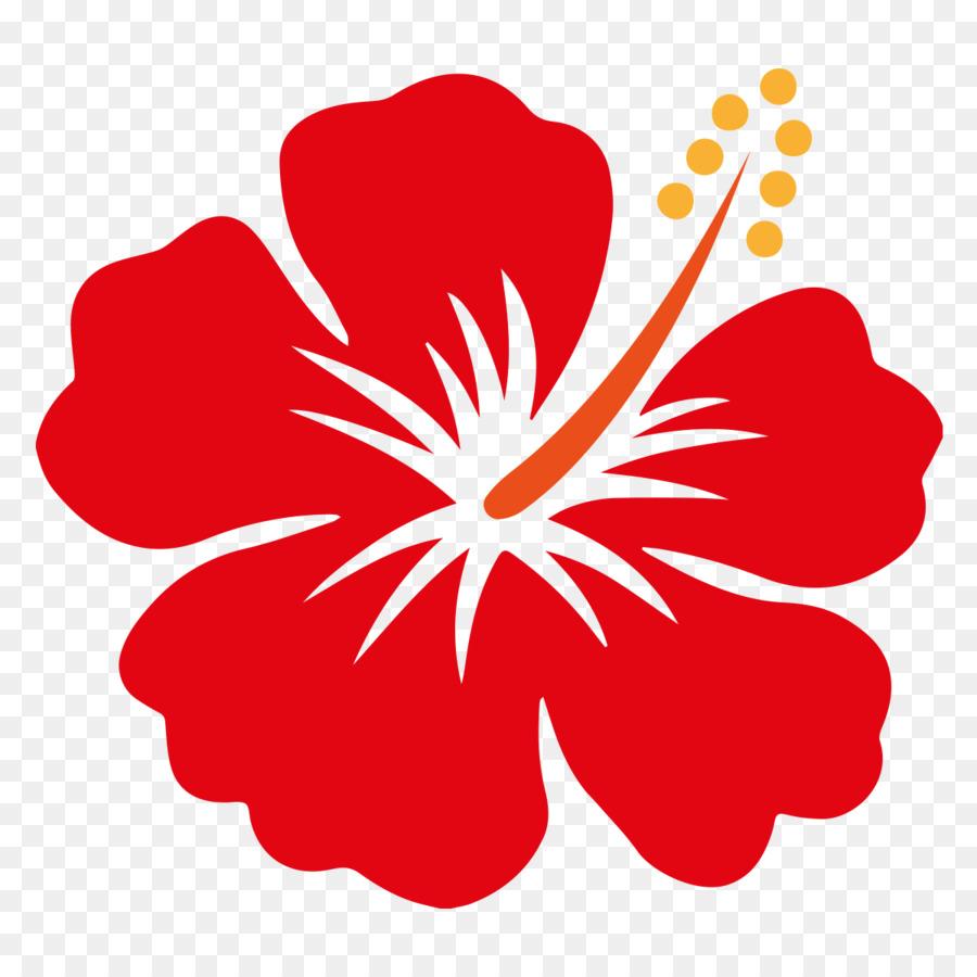Hawaii Shoeblackplant Flower Clip Art Hibiscus Png Download 1200