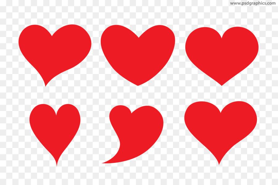 Heart Shape Valentine's Day Clip Art