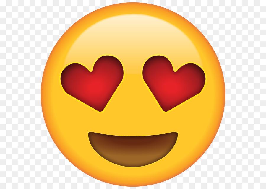Emoji Herz Augen Smiley Emoticon Emoji Png Herunterladen 640 640