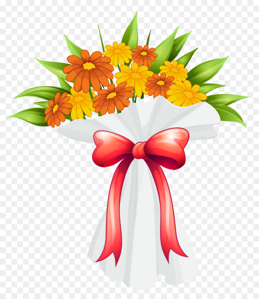 Flower Bouquet Clip Art Bouquet Png Download 56006470 Free