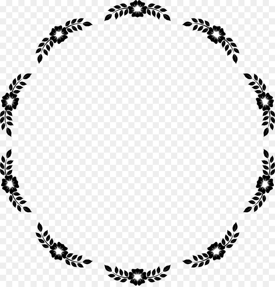 Flower Borders And Frames Picture Frames Clip Art Circle Frame Png