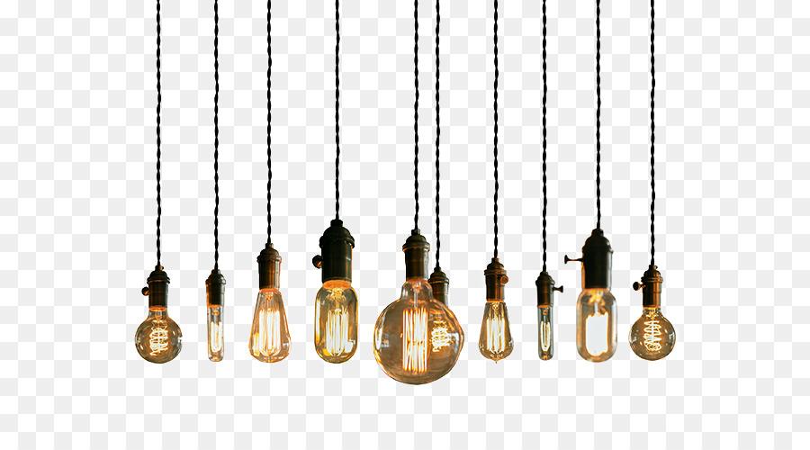 Lighting Incandescent Light Bulb Pendant Light Light Fixture String Lights Png Download