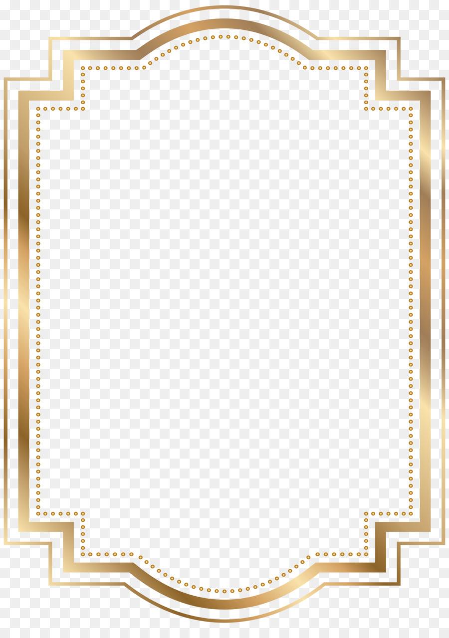 Gold Picture Frames Clip art - gold border png download - 5714*8000 - Free Transparent ...
