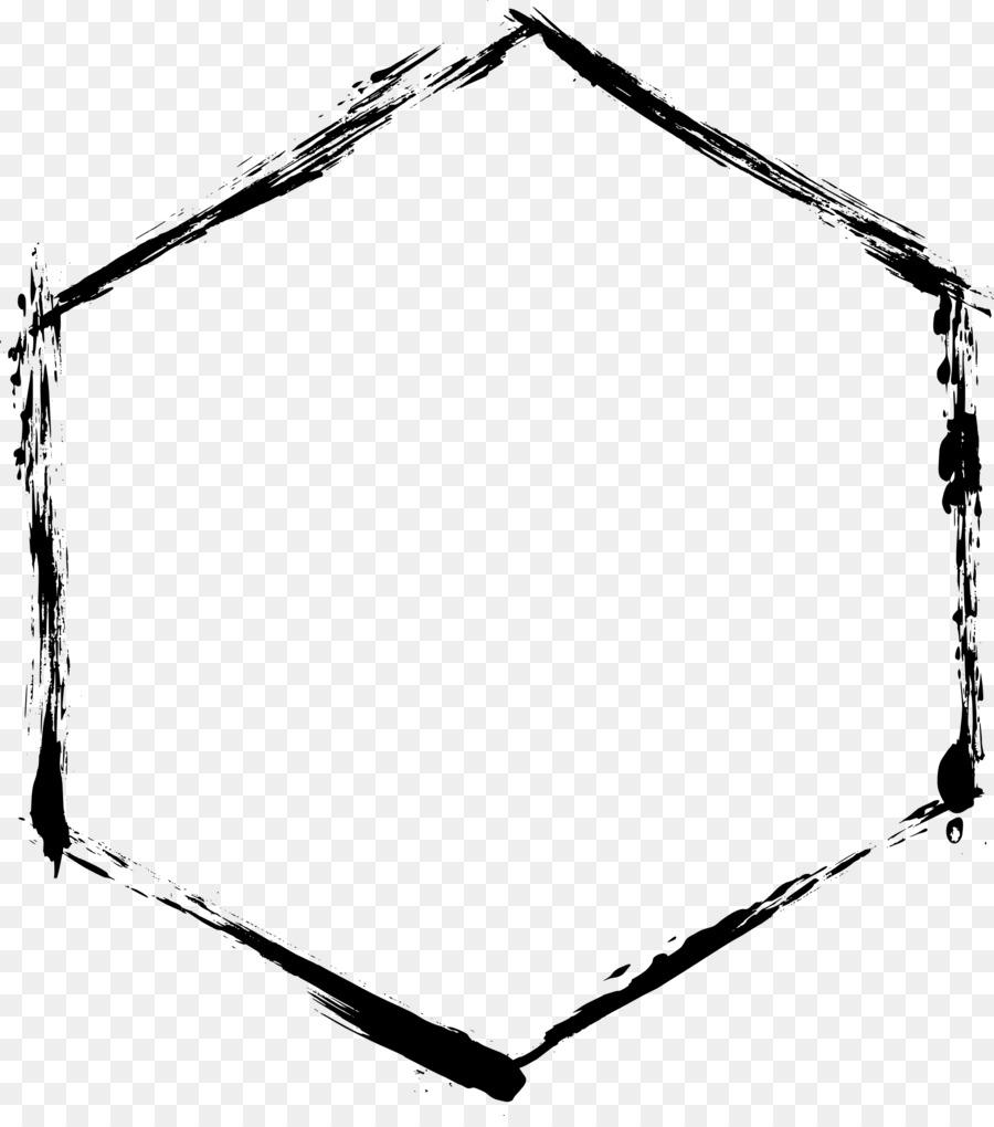 Hexágono Clip art - marco del círculo Formatos De Archivo De Imagen ...