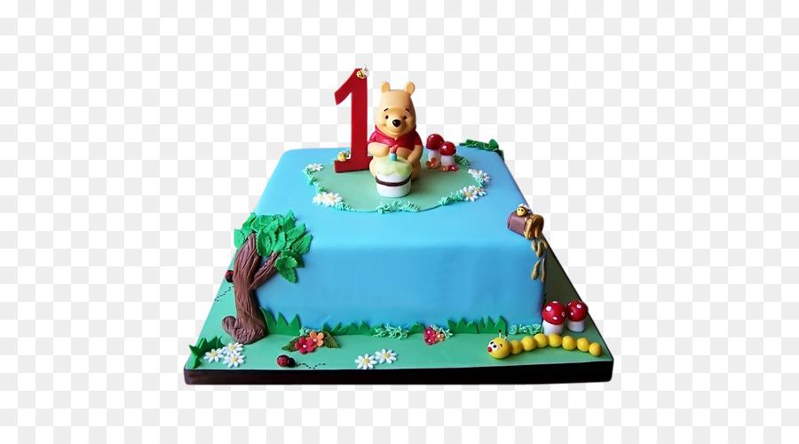 Winnie The Pooh Birthday Cake Cupcake Play PNG