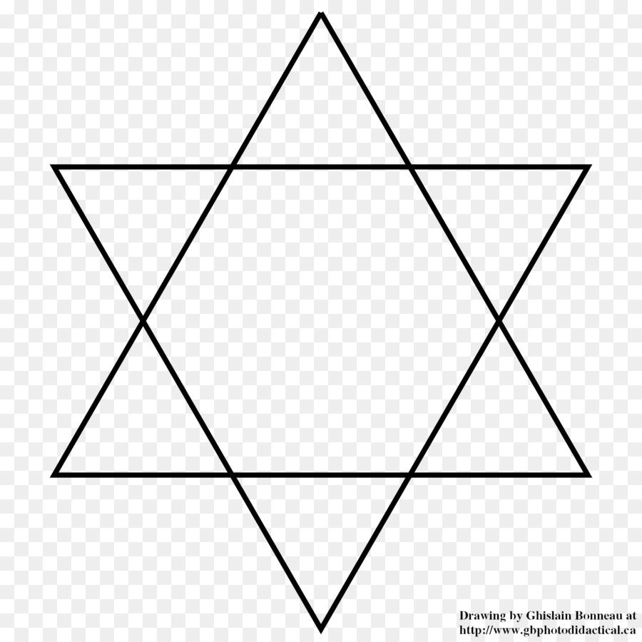 Star Of David Symbol Overlapping Circles Grid Judaism Clip Art