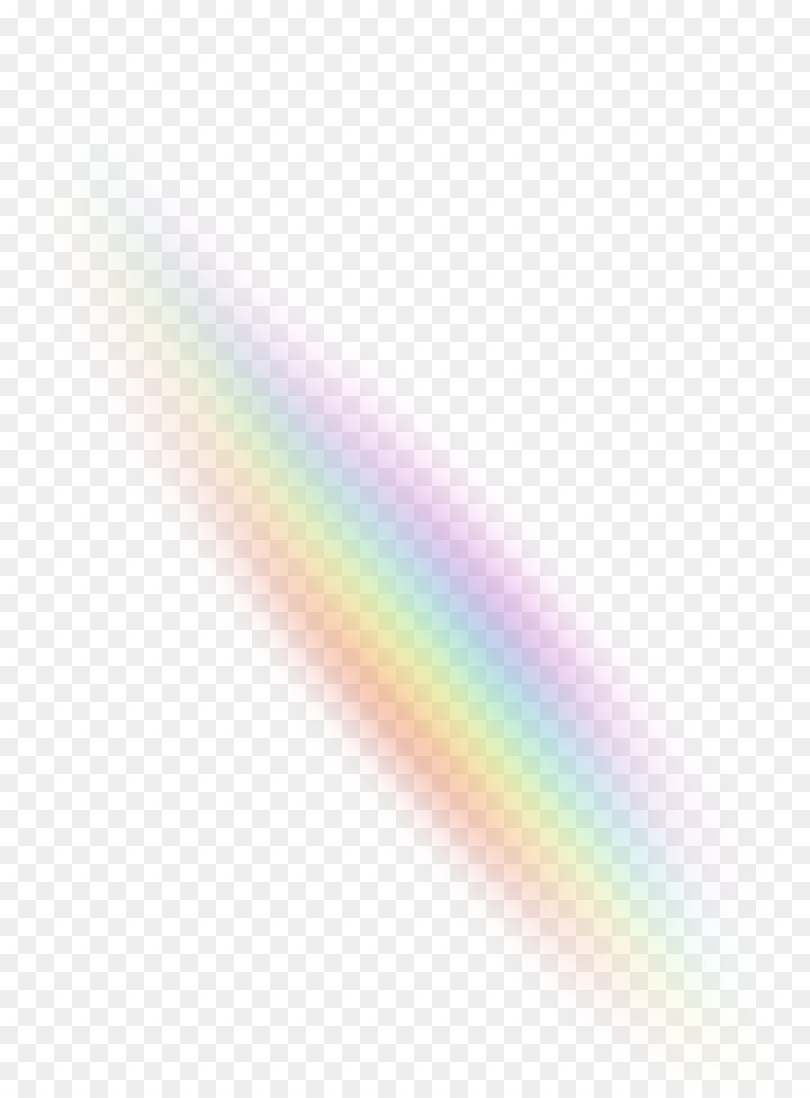 rainbow light color sky - light effects png download