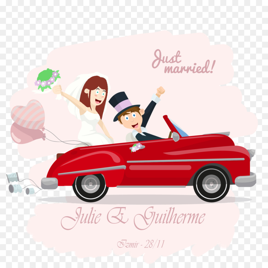 Wedding invitation Wedding photography Clip art - Just Married png ...