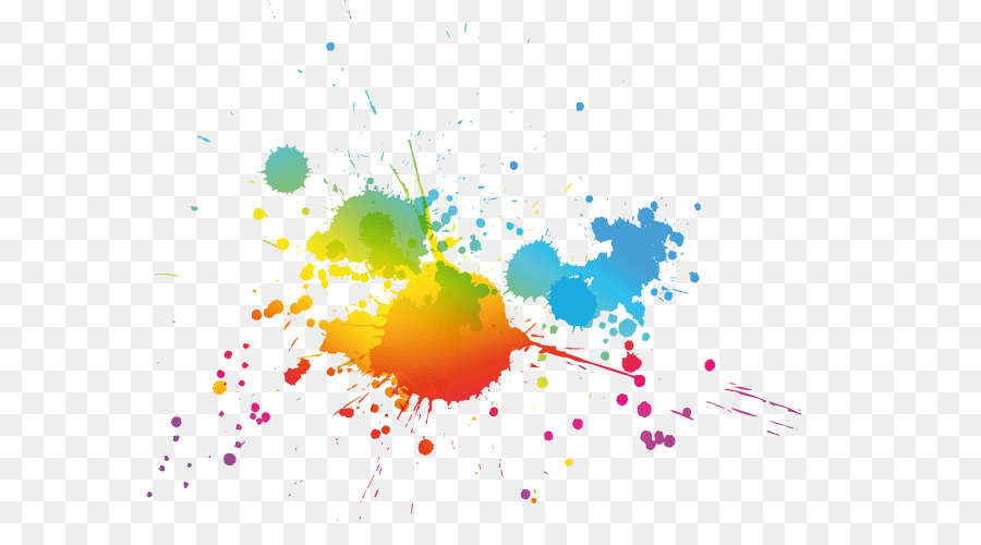 Color Painting Watercolor Splash Background Color Clipart: Color Splash Png Download