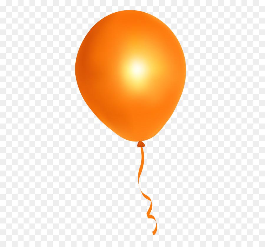 Balloons orange. Hot air balloon png