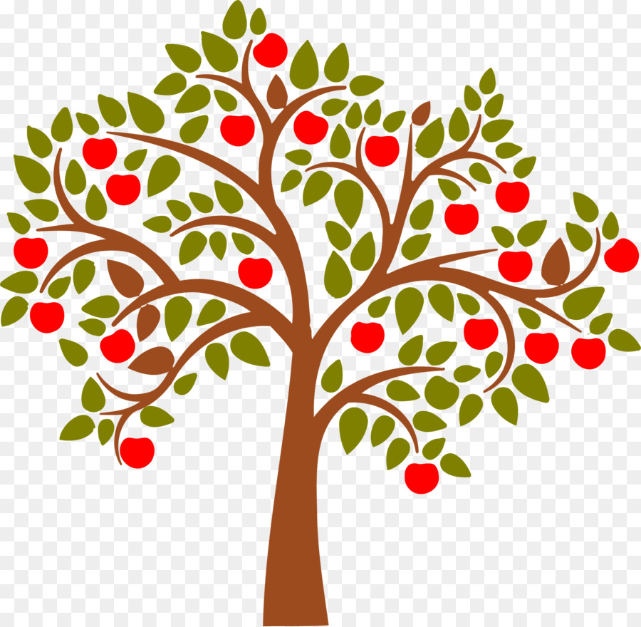 apple tree clip art tree vector png download 2121 2072 free rh kisspng com apple tree clipart free apple tree clipart black and white