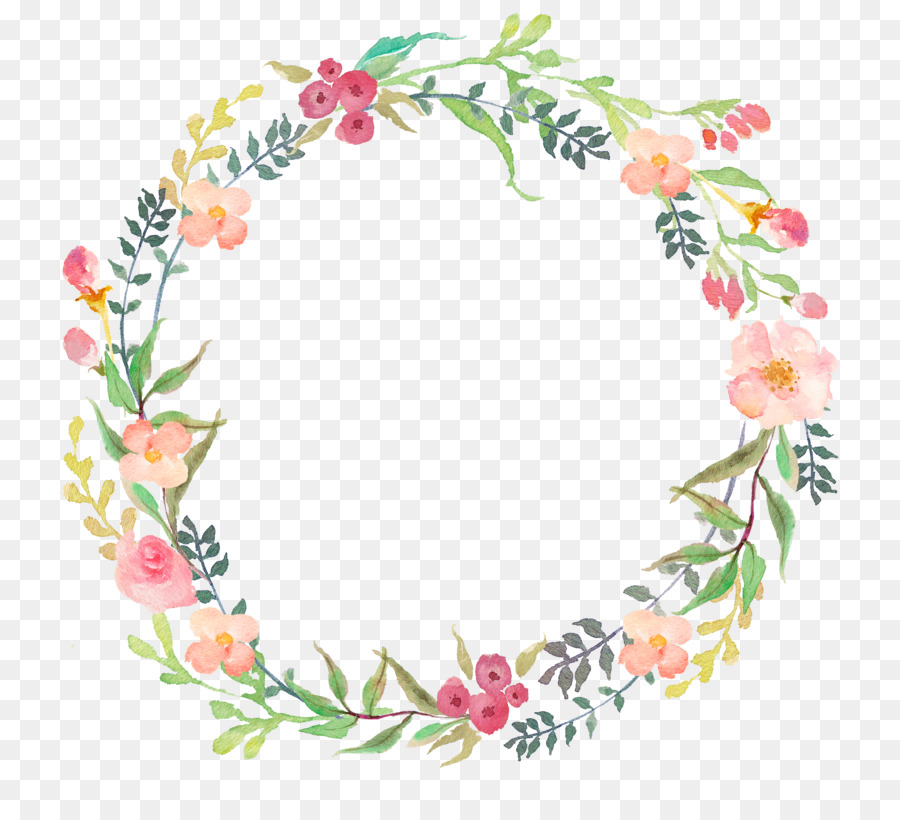 watercolour flowers wreath clip art floral png download 800 804 free transparent picture holiday light border clip-art Printable Christmas Borders