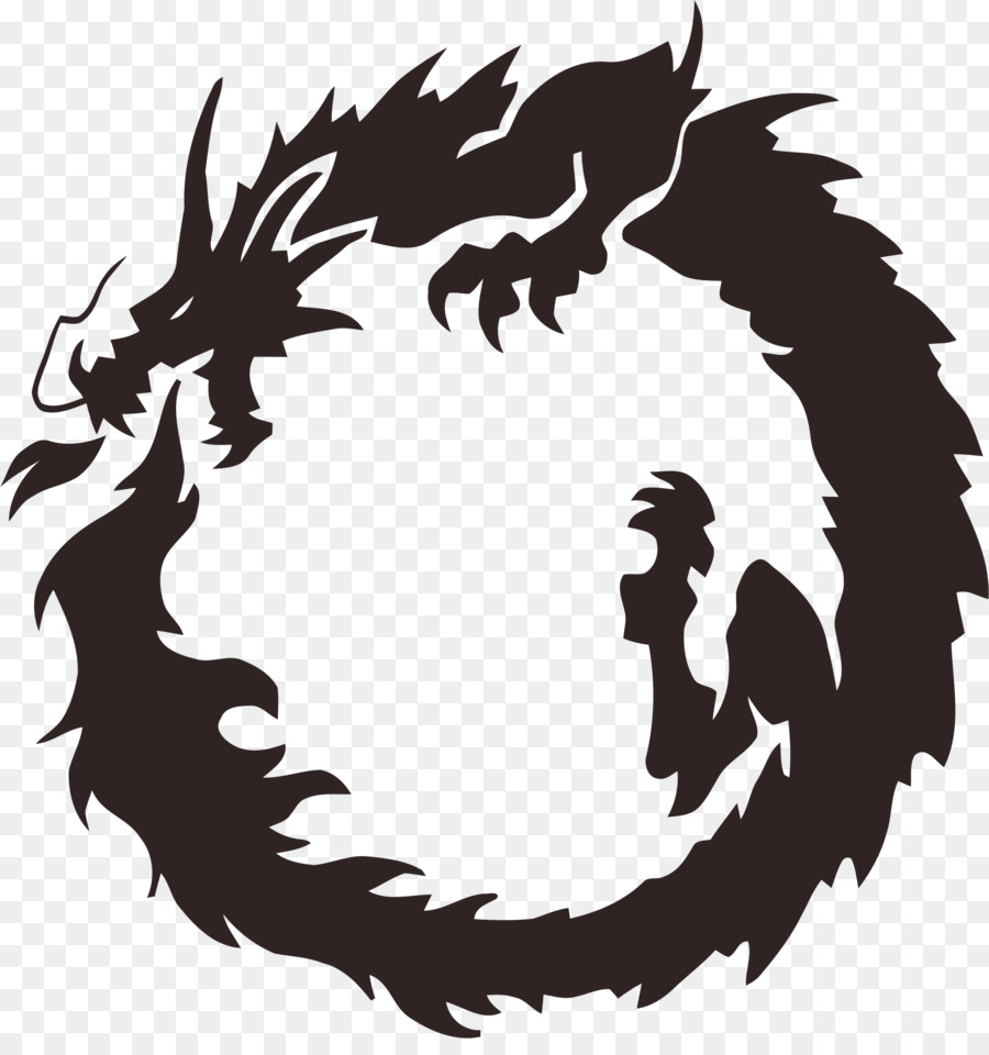 Ouroboros Chinese Dragon Japanese Dragon Bearded Dragon