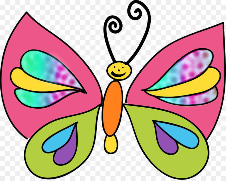 Kelebek Boyama Böcek Küçük Resim Suluboya çizim Ay Ben Png Indir
