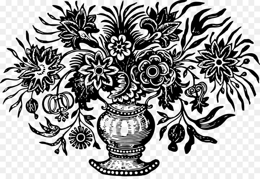 Black white drawing vase clip art flower vase png download black white drawing vase clip art flower vase mightylinksfo