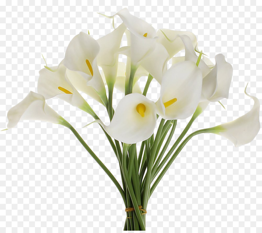 Artificial flower Flower bouquet Arum-lily Wedding - callalily png ...
