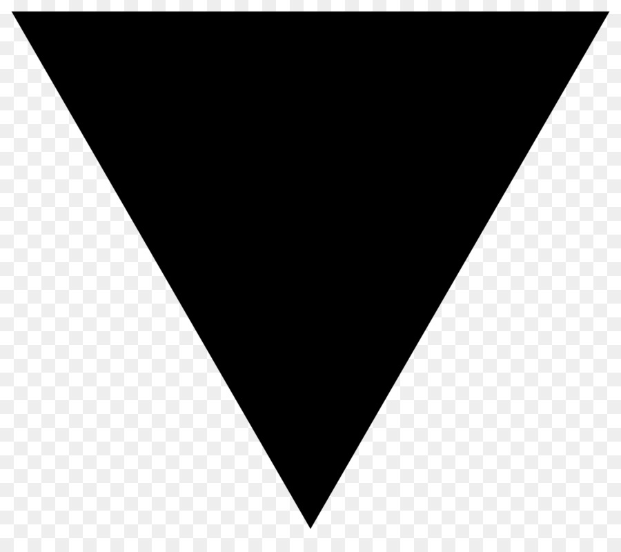 Black Triangle Computer Icons Shape - Black Png Download ...