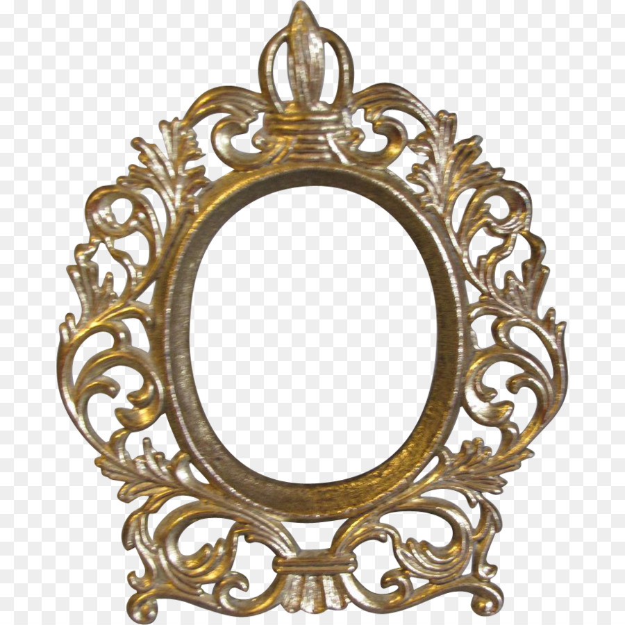 Picture Frames Oval Decorative arts Antique Wood - vintage png ...