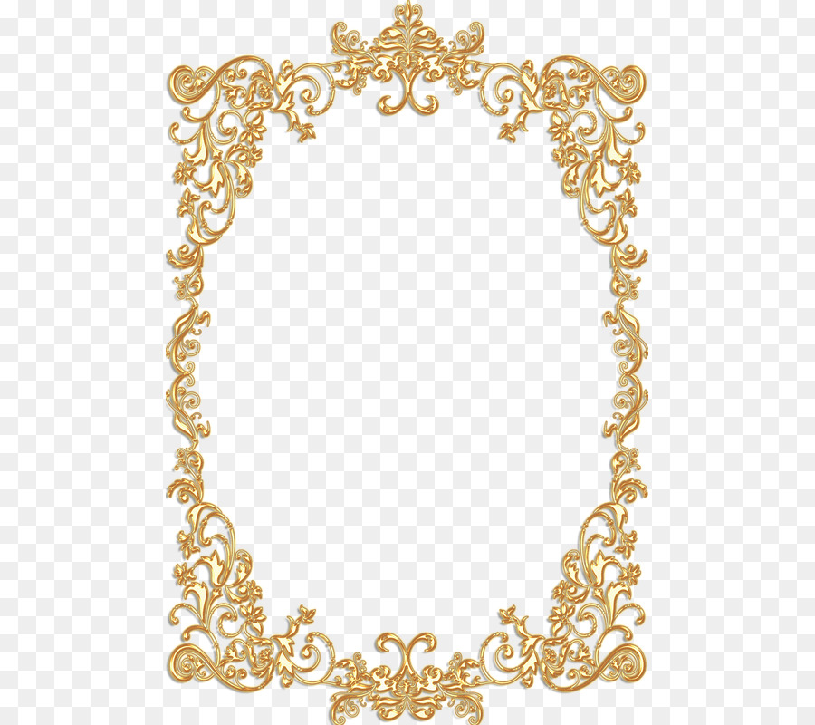 Borders And Frames Picture Gold Vintage Clip Art