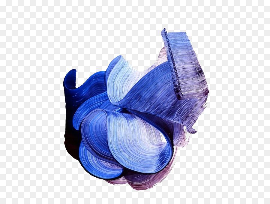 Paintbrush Paintbrush Texture Blue   Brush Stroke